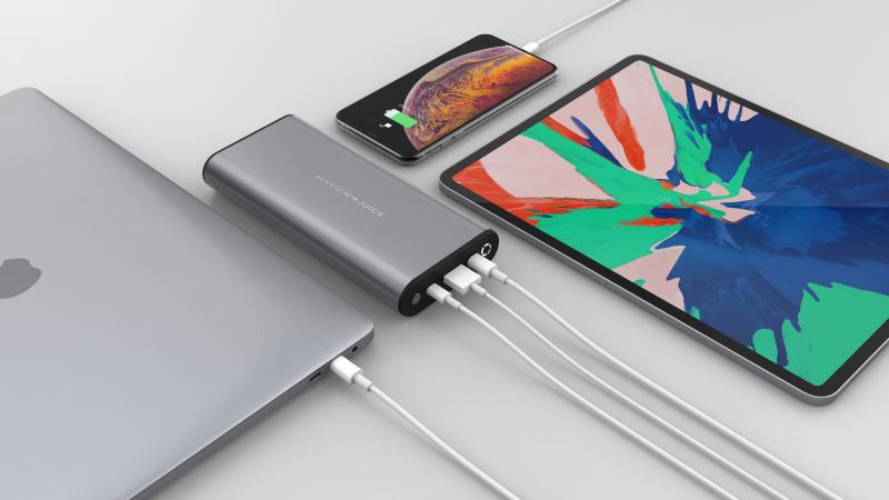 【香港行貨】HyperDrive HyperJuice 130W USB-C Battery + 112W Charger Bundle HJ307[充電器 電池]