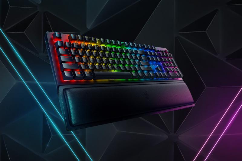 【香港行貨】Razer Blackwidow V3 Pro Gaming Keyboard (Green Switch)[電競鍵盤]