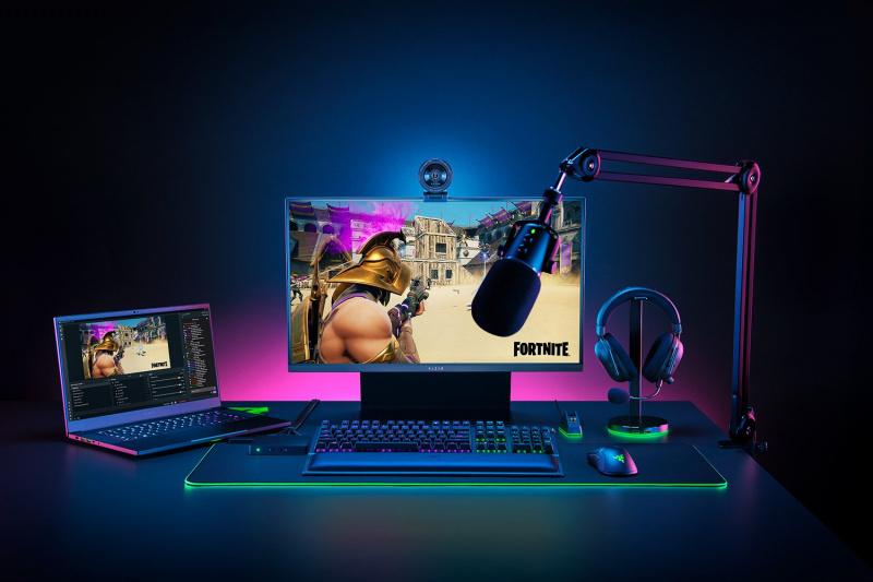 【香港行貨】Razer Kiyo Pro Full HD USB 網路攝影機[網路攝影機]