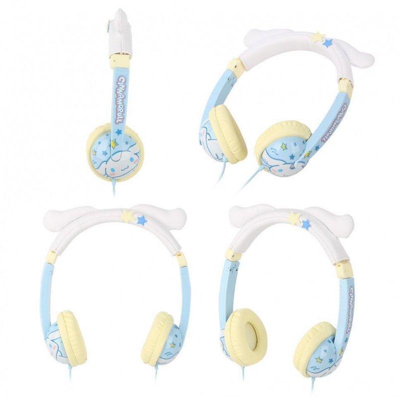【香港行貨】Sanrio Kids Safe Headphone w/Mic [頭戴式耳機]