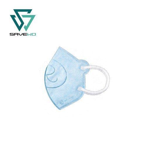 香港製 SAVEWO 3DBEAR 救世立體啤口罩 (30片/盒 ,獨立包裝) (6-24月嬰幼兒適用) [3色] (送口罩減壓器)