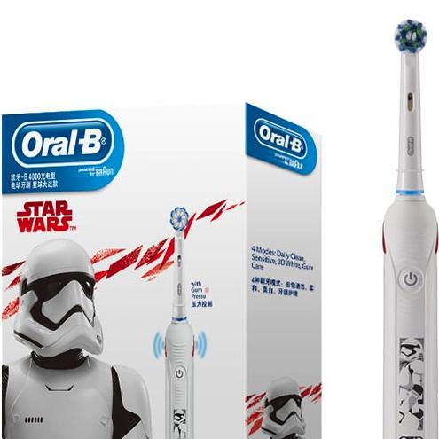 Oral-B Professional Care P4000 (星球大戰特別版) 門市現金優惠價$430