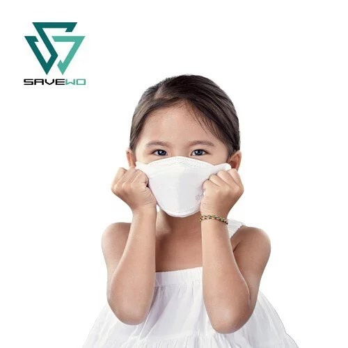 SAVEWO 3DMASK KIDS 救世超立體兒童防護口罩 L-大碼 (30片/盒 ,獨立包裝) (8至13歲中童適用)