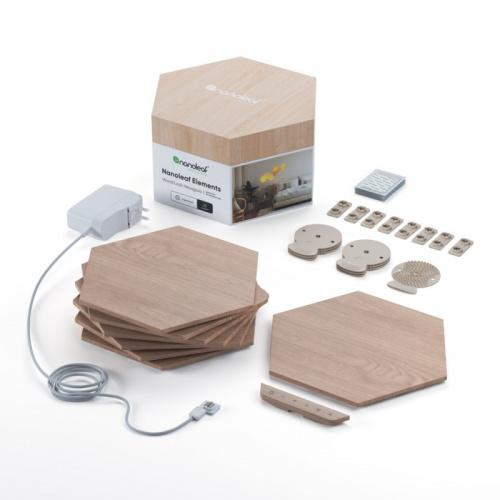 Nanoleaf Elements Hexagon Starter Kit 六角形智能照明燈板 [七塊裝]