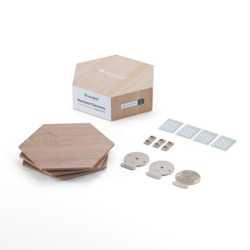 Nanoleaf Elements Hexagon Expansion Kit 六角形智能照明燈板 [3塊裝]