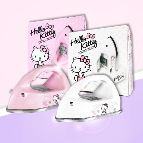 SANRIO - Hello Kitty 迷你小熨斗 - 白色