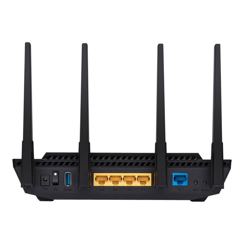 ASUS AX3000 雙頻 WiFi 6 (802.11ax) 路由器 RT-AX58U 【香港行貨】
