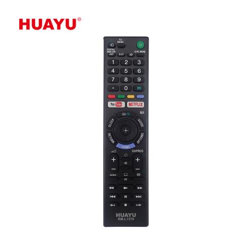 HUAYU RM-L1370 Sony索尼電視遙控器 – 適用於大多數索尼電視 (LED,LCD,Plasma)