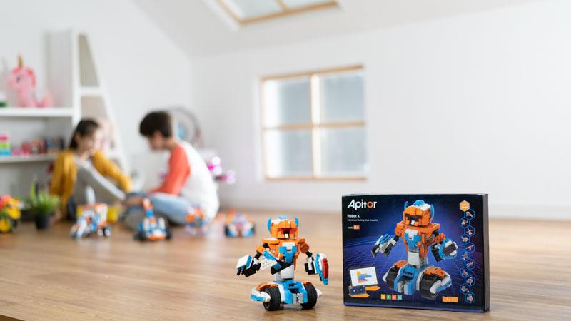 Apitor Robot X 第二代 STEAM編程學習機械人【香港行貨】