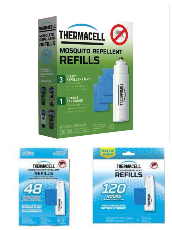 Thermacell 驅蚊片及燃料補充套裝