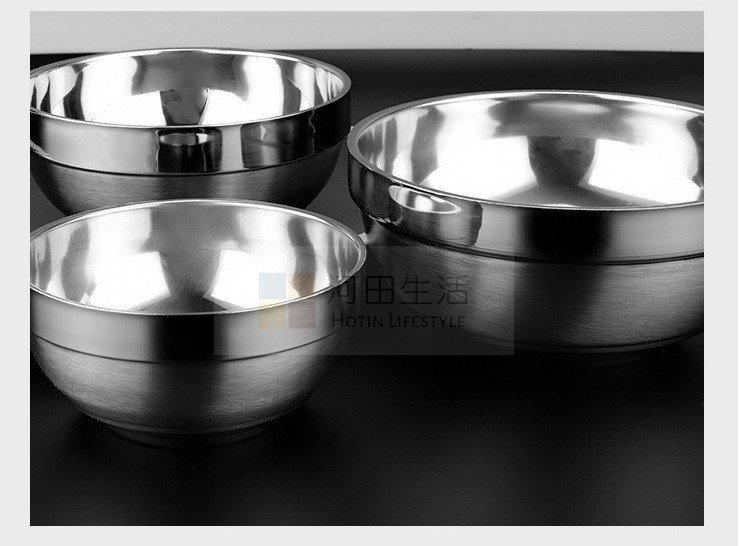 真空絕緣雙層不銹鋼韓國傳統石鍋飯碗 + 筷子一對