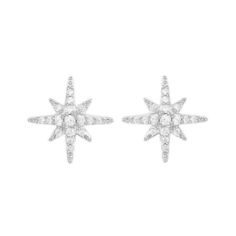 APM Monaco COLLECTION METEORITES - 六芒星耳環 (AE8419OX)