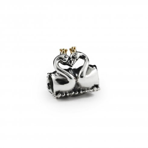 Pandora - Swan Embrace Charm #791189