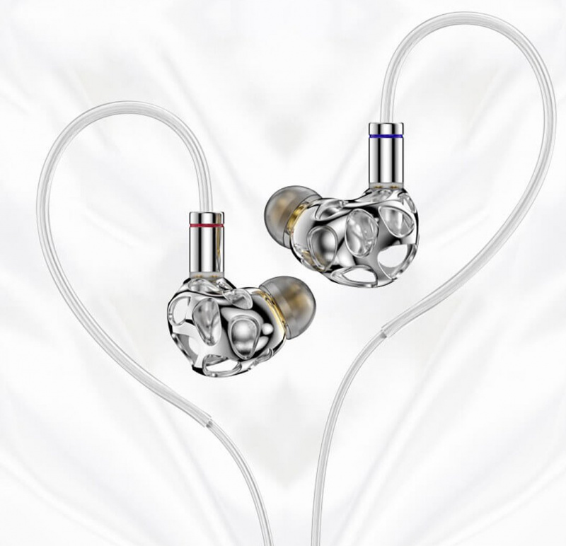 BLON BL-A8 金屬鏤空動圈單元耳機