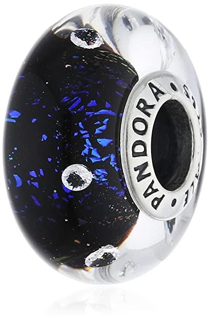 Pandora - Abstract silver charm #791627CZ