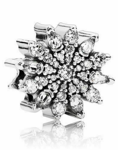 Pandora - Ice crystal charm #791764CZ