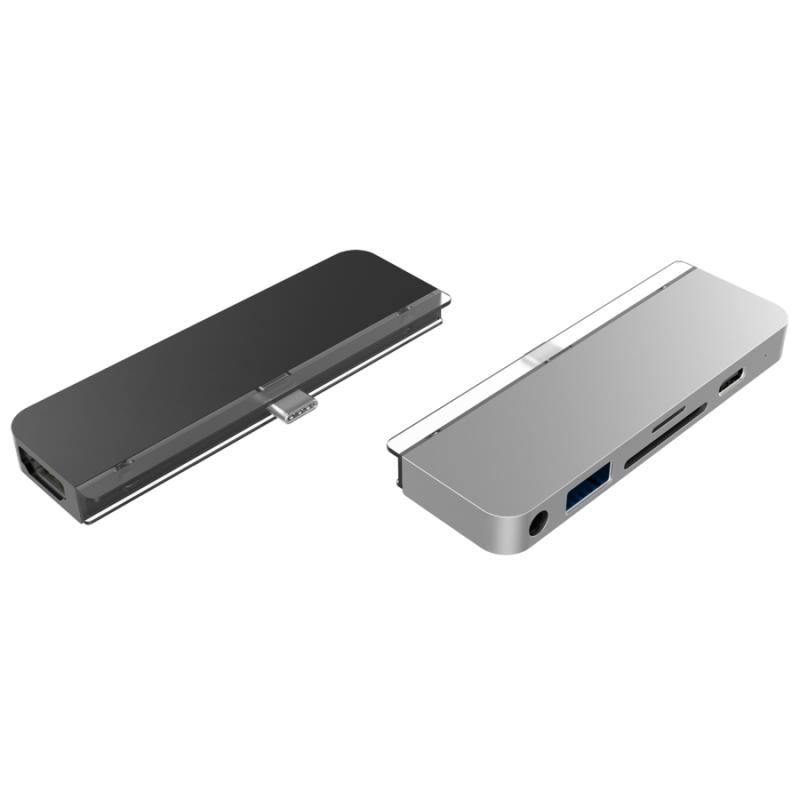 【香港行貨】HyperDrive iPad Pro 6-in-1 USB-C Hub for iPad Pro 2018(HD319B-SILVER)