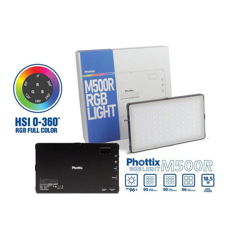 Phottix M500R RGB LED Light Panel 燈板