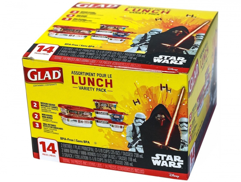 GLAD 佳能密實盒 Star Wars 特別版 [7個裝]