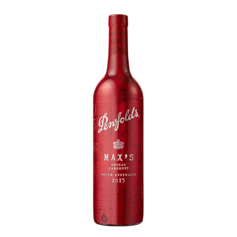 Penfolds Max's Shiraz Cabernet 2015 Cork Red Packed 紅酒 750ml - 1237409