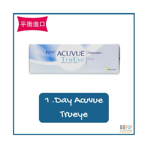 Acuvue One Day Trueye 強生每日拋棄型隱形眼鏡