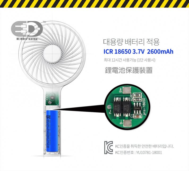 EDrug™ 韓國輕便充電式龍卷風扇(PF01)