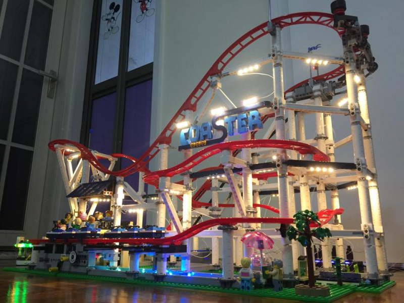 LEGO Brick Light 10261 Roller Coaster Lighting Sets 專用燈組 (不包括本體Lego)