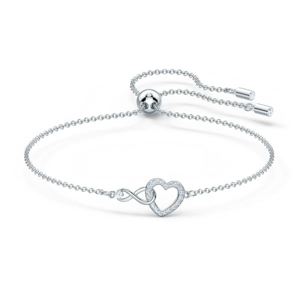 Swarovski - Infinity Heart 手鏈 (5274892)