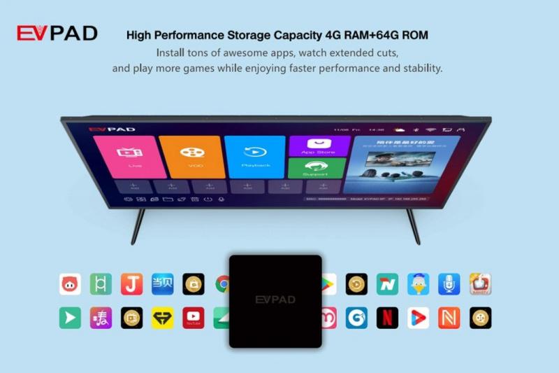 EVPAD 6P 智能語音電視盒 (4+64GB)