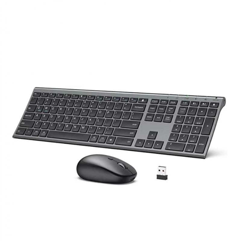 【香港行貨】iClever Combo BT+2.4G Keyboard & Mouse IC-DK03