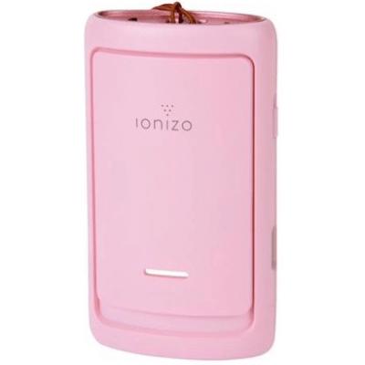 【香港行貨】ionizo 智能空氣檢測+穿戴式負離子空氣清新機 (季節限定 - 櫻花粉紅)
