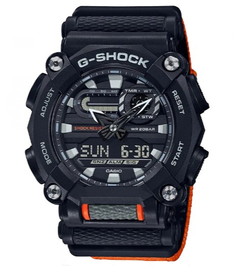 Casio G-Shock 雙重顯示手錶 [GA-900C-1A4 ]