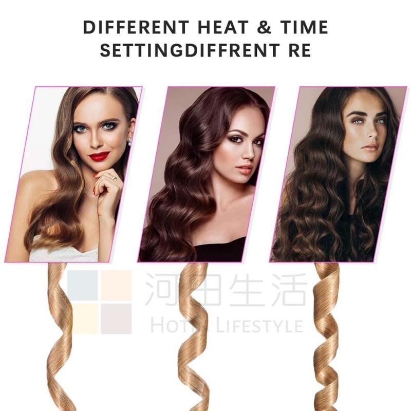 無線自動捲髮器 USB充電 旋轉 造型 電髮 卷曲 長短髮適用