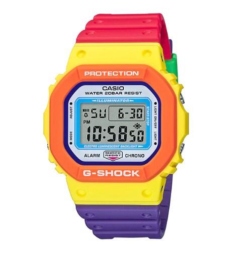 Casio G-Shock #DW-5610DN-9 電子顯示手錶