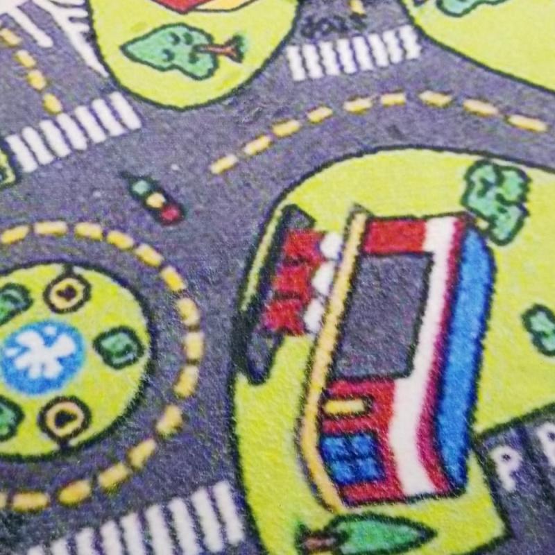 交通安全教育Tomica玩具車 兒童地墊 地氈