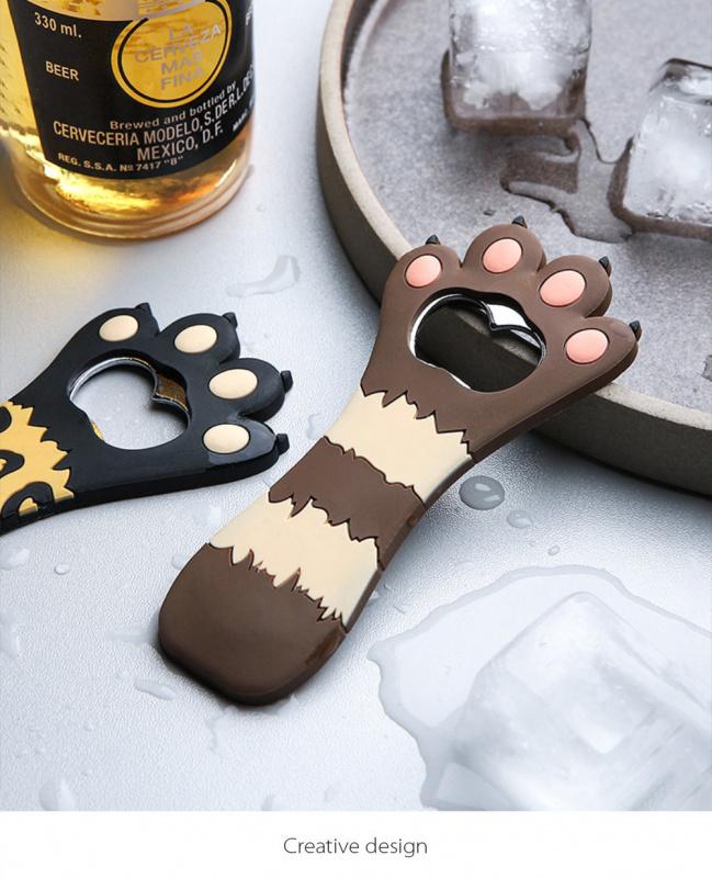 貓爪開瓶器 雪櫃磁鐵 貓肉掌 記事貼