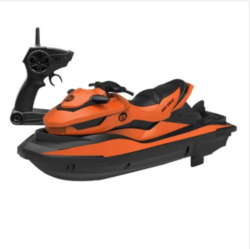 SMRC High Speed M5 Motorboat 2.4G 遙控水上電單車 橙色
