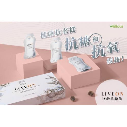 Liveon - 抗糖抗氧化口服液 1盒【16包 x 20ml】