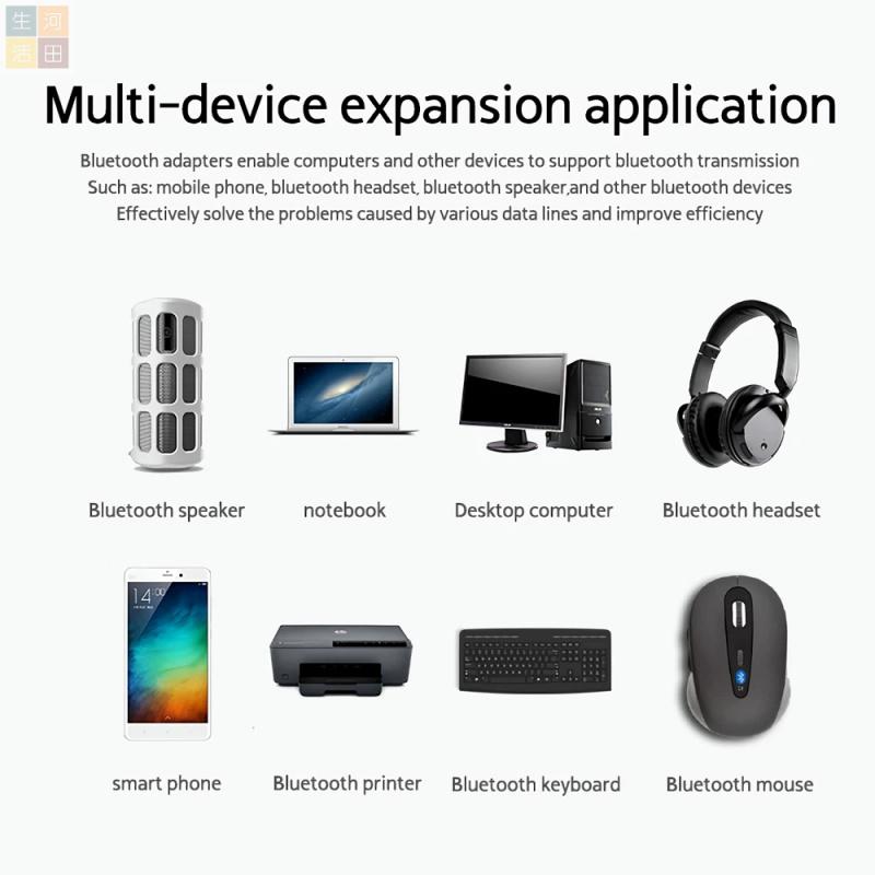 Rocketek無線USB藍牙接收發射器4.0 手機電腦兼容其他藍牙接收發射器 (全港免運)