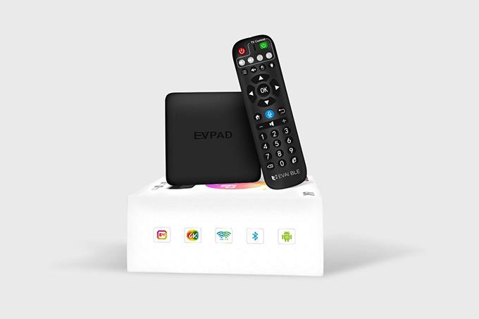 易播盒子 EVPAD 6P 智能電視盒 6代 AI語音版 4+64GB 安卓10.0系統