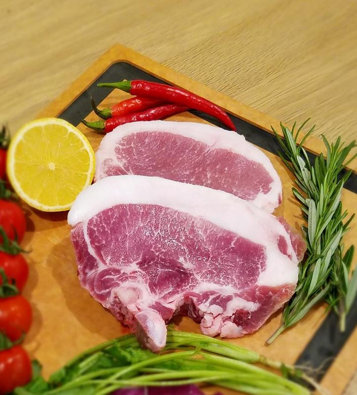 西班牙 黑毛豬 T 骨肉眼扒 UDS026 每包(約0.7-0.8磅)