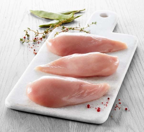 智利 去皮小雞胸肉 UDS037 每包(約1KG)