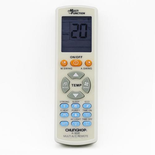 Chunghop Midea 美的 萬能冷氣遙控器 K-302E