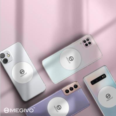 Megivo MagStick – S01 手機磁吸貼片(需配合磁吸式配件使用)