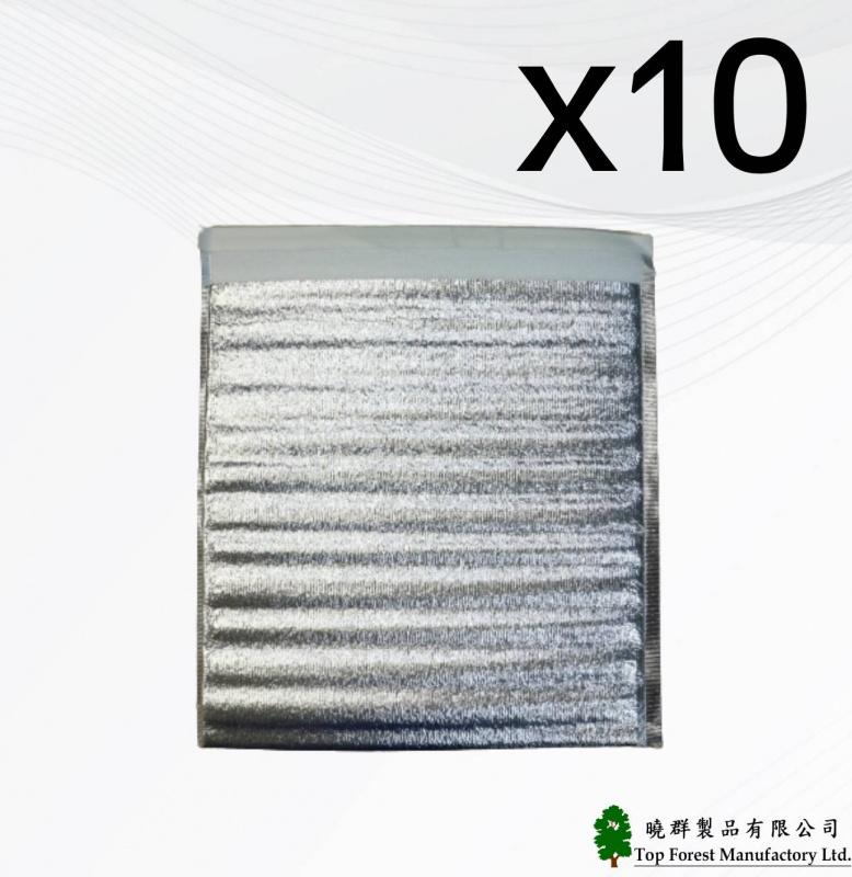 中秋節/ 月餅袋 / 冰皮月餅包裝 10個裝零售環保外賣鋁箔冷藏保溫包裝平面袋 40 x 40cm 廠價直銷 SK-COOL03