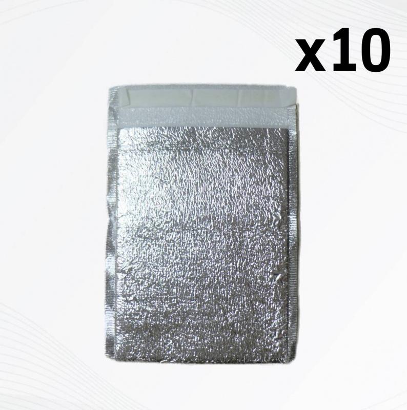 中秋節/ 月餅袋 / 冰皮月餅包裝 10個裝零售環保外賣鋁箔冷藏保溫包裝平面袋 20x25cm 廠價直銷 SK-COOL01