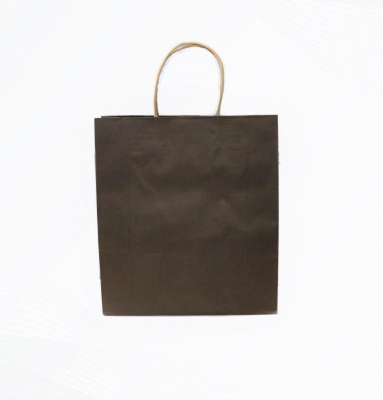 現貨立體環保咖啡色小紙袋 10個裝 SK-PAPER03A