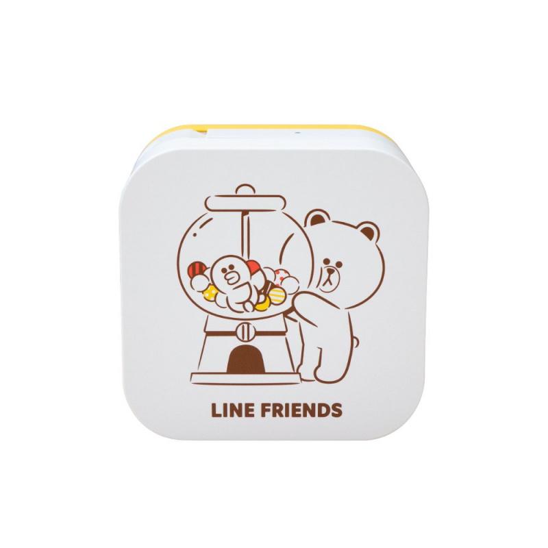 Brother Line Friends 造型藍牙電子標籤機 PTP300BTLB