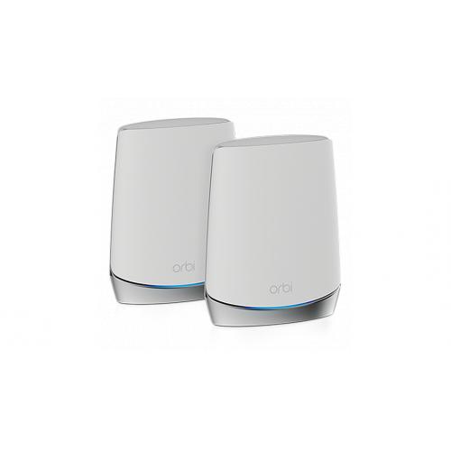 NETGEAR Orbi Mesh WiFi 6 專業級三頻路由器 2 件套裝 (RBK752)【恒生限定】