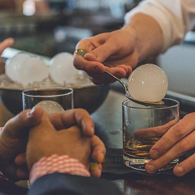 食品矽膠冰球模具 4連圓球 45mm冰塊 高溫矽膠 威士忌 果汁 果凍 朱古力 凍飲 脾酒 蛋糕 雪糕 冰淇淋 烘焙
